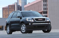 2010 GMC Acadia, Front Right Quarter View, manufacturer, exterior