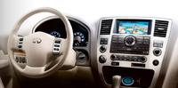 2010 Infiniti QX56, Interior View, manufacturer, interior