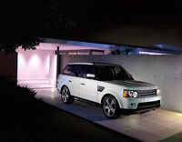 2010 Land Rover Range Rover Sport, Front Right Quarter View, manufacturer, exterior