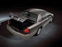 2010 Mercury Grand Marquis, Overhead Rear View, exterior, manufacturer