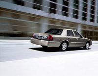 2010 Mercury Grand Marquis, Back Right View, exterior, manufacturer