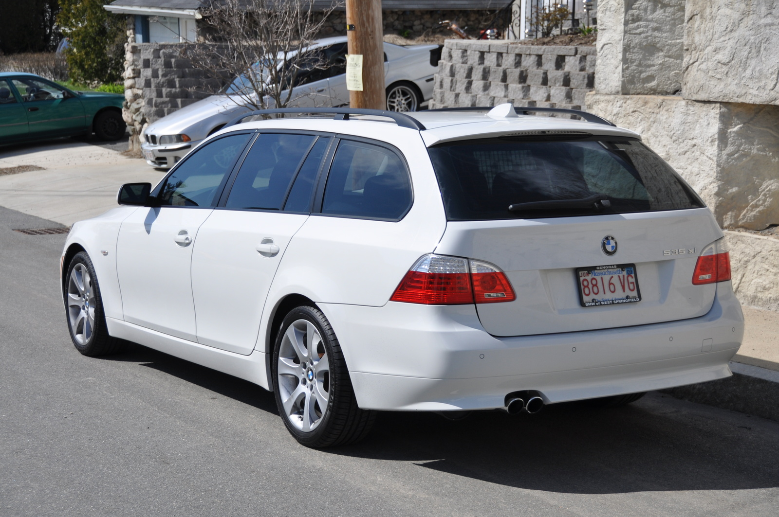 Bmw 535xi Bmw 535xi Wagon Review