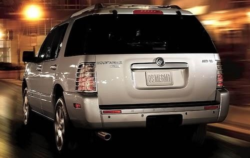 2010 Mercury Mountaineer, Back Left Quarter View, exterior, manufacturer