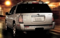 2010 Mercury Mountaineer, Back Left Quarter View, manufacturer, exterior