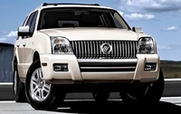 2010 Mercury Mountaineer, Front Right Quarter View, manufacturer