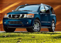 2010 Nissan Armada, Front Left Quarter View, exterior, manufacturer, gallery_worthy