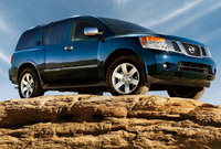 2010 Nissan Armada, Front Right Quarter View, exterior, manufacturer