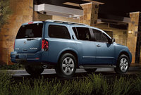 2010 Nissan Armada, Back Right Quarter View, exterior, manufacturer