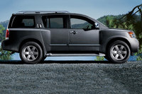 2010 Nissan Armada, Right Side View, exterior, manufacturer
