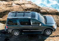 2010 Nissan Armada, Overhead View, exterior, manufacturer, gallery_worthy