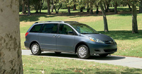 2010 Toyota Sienna, Right Front Quarter View, manufacturer, exterior