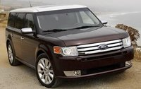 2010 Ford Flex, Front Right Quarter View, exterior, manufacturer