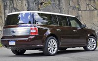 2010 Ford Flex, Back Right Quarter View, exterior, manufacturer