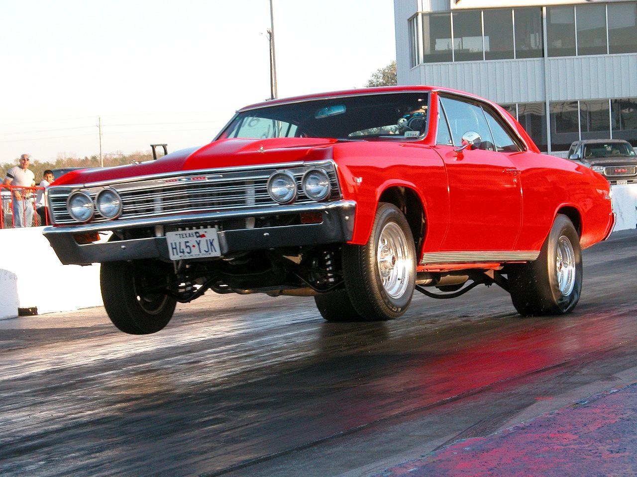67 Chevelle Drag Car