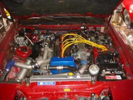 1990 Toyota Supra 2 Dr Turbo Hatchback picture, engine