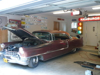 Picture of 1955 Cadillac DeVille, exterior, engine