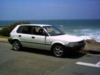 1990 Toyota Tazz Overview