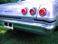 1965 Chevrolet Caprice, 1965 Caprice Rear, exterior