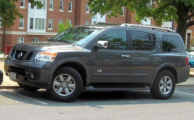 Picture of 2008 Nissan Armada SE 4WD, exterior, gallery_worthy