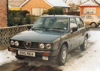 1985 Alfa Romeo 75 Overview