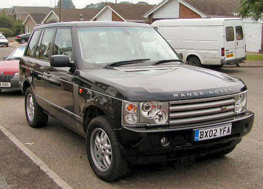 2002 land rover range rover overview cargurus. Black Bedroom Furniture Sets. Home Design Ideas