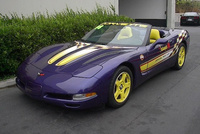1998 Chevrolet Corvette Convertible, Picture of 1998 Chevrolet Corvette 2 Dr STD Convertible, exterior