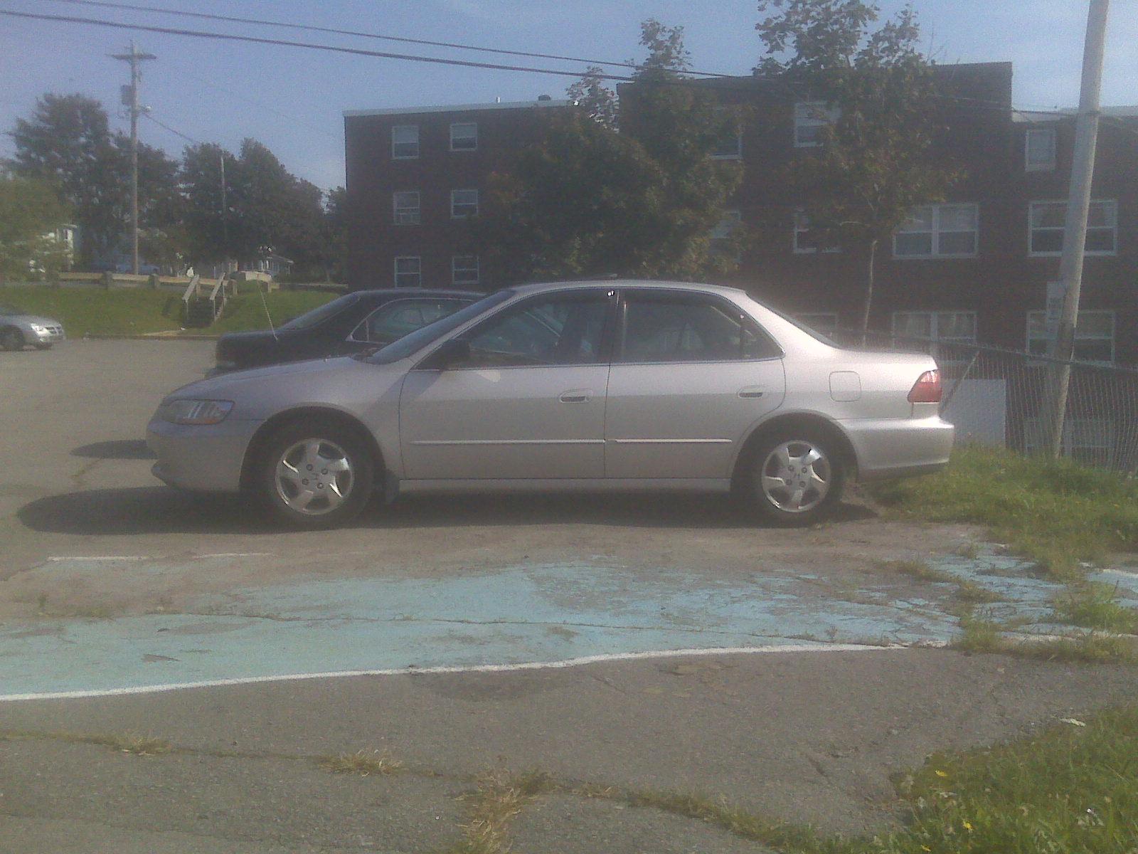 1999 Honda Accord EX, 1999 Honda Accord 4 Dr EX Sedan picture, exterior