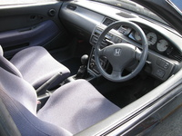 1992 Honda Civic Si Hatchback, 1992 Honda Civic 2 Dr Si Hatchback picture, interior