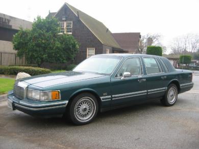 1993+lincoln+town+car+interior