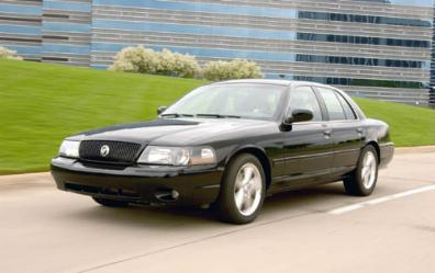 2003 Mercury Marauder 4 Dr STD Sedan picture