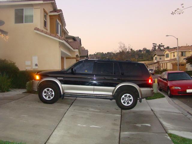 Picture of 1998 Mitsubishi Montero Sport 4 Dr XLS 4WD SUV, exterior