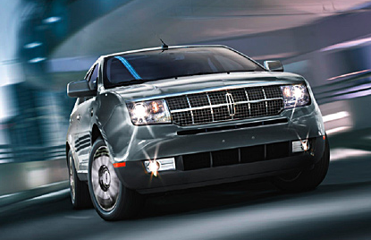 2010 Lincoln MKX, Front View, exterior, manufacturer