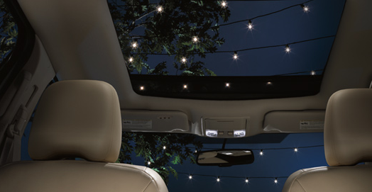 2010 Lincoln MKX, Interior Sunroof View, manufacturer, interior