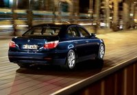 2007 BMW 5 Series, Back Right Quarter View, manufacturer, exterior