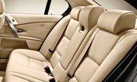 2010 BMW 5 Series, Interior Back Seat View, interior, manufacturer
