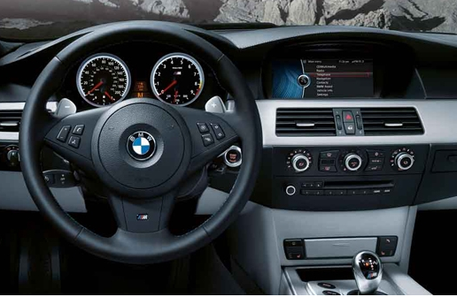 2010 BMW M5, Interior View, interior, manufacturer