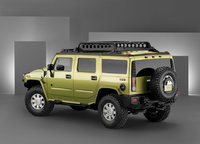 2010 Hummer H2, Back Left Quarter View, exterior, manufacturer, gallery_worthy