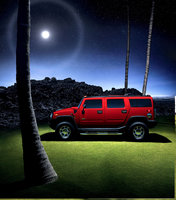 2010 Hummer H2, Left Side View, exterior, manufacturer, gallery_worthy