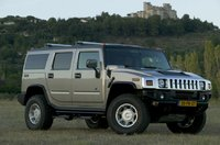 2005 Hummer H2, Front Right Quarter View, exterior, manufacturer