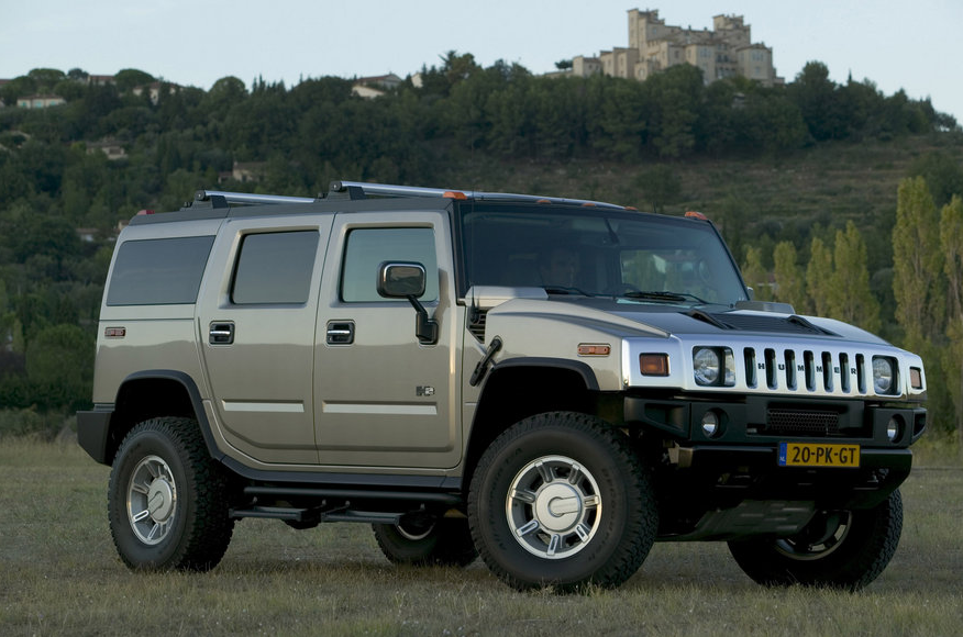 2005 Hummer H2, Front Right Quarter View, manufacturer, exterior