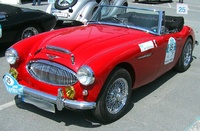 1962 Austin-Healey 3000 Overview