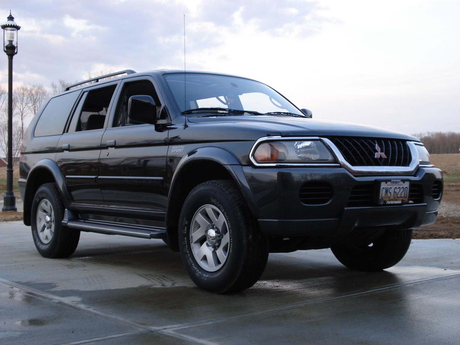 2001 Mitsubishi Montero Sport - Pictures - 2001 Mitsubishi Montero ...