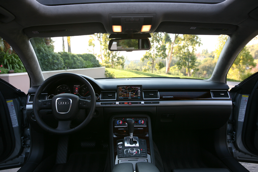 Gallery For > 2009 Audi A8 Interior