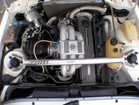 1988 BMW 3 Series, Picture of 1988 BMW 320, engine