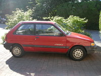 1989 Subaru Justy Overview