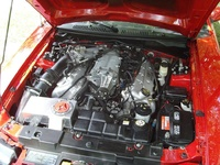2004 Ford Mustang SVT Cobra 2 Dr Supercharged Coupe picture, engine