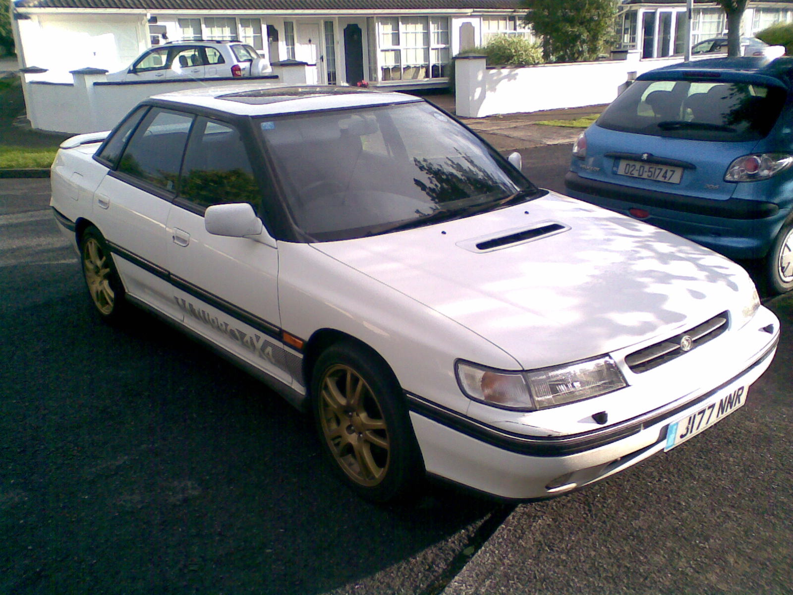Picture of 1992 subaru legacy 4 dr sport turbo awd sedan exterior