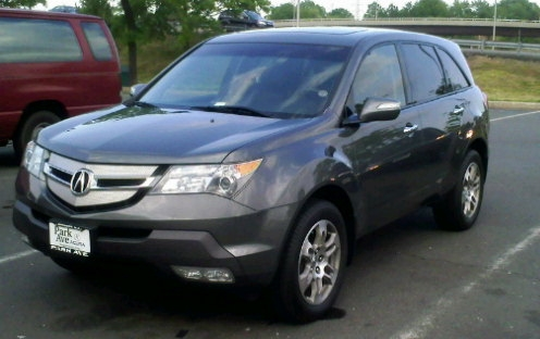 2008 Acura Mdx Tech Package 2008 Acura Mdx Tech Awd Picture Exterior ...