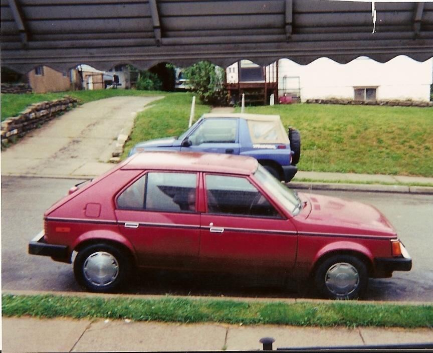 Plymouth horizon hatchback