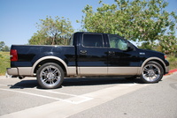 2004 Ford F-150 Lariat SuperCrew, 2004 Ford F-150 4 Dr Lariat Crew Cab 5.5 ft. SB picture, exterior